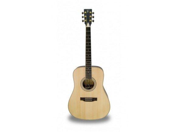 APC WG200 PSI  Guitarra Acústica Western APC WG 200 PSI - Poro aberto - Tampo: Spruce Maciço - Aros e Fundo: Pau Santo - Braço: Mogno - Escala: African Blackwood