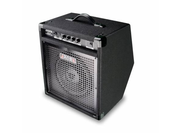 Aroma ADX-30  Amplificador para Bateria Eletrónica 30 Watts Aroma ADX-30