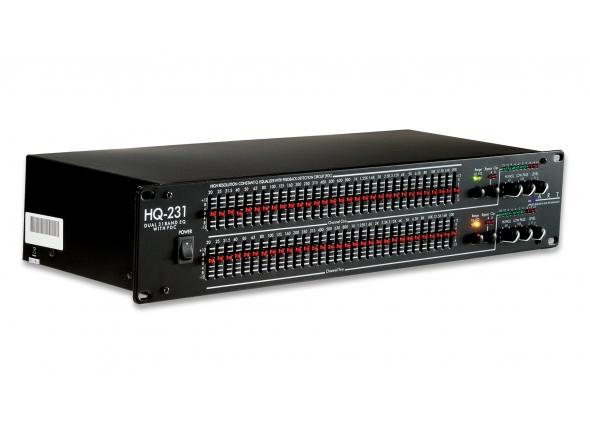 Equalizadores gráficos ART HQ231 Pro Dual 31 Band EQ