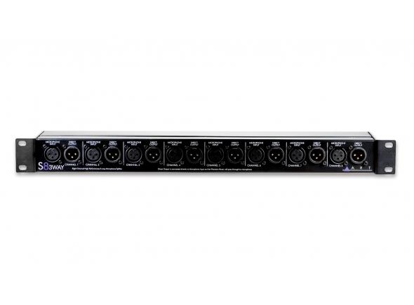 ART S8-3-Way Microphone Splitter