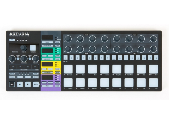 Sequenciadores de ritmos Arturia Beatstep Pro Black Edition