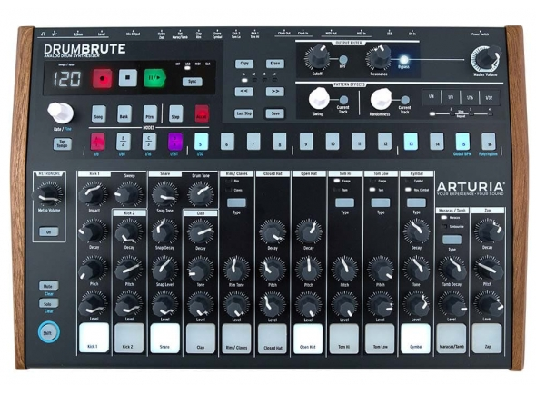 Sintetizadores e Samplers Arturia DrumBrute