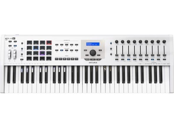 Teclados MIDI Controladores Arturia KeyLab MkII 61 White