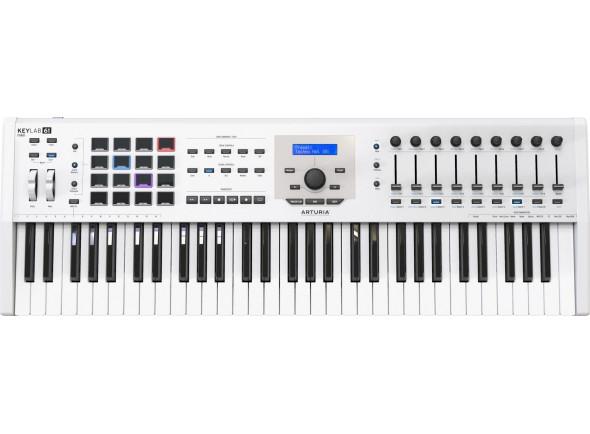 Teclados MIDI Controladores Arturia KeyLab MkII 61 White B-Stock
