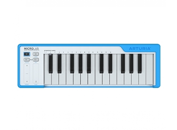 Teclados MIDI Controladores Arturia Microlab Blue
