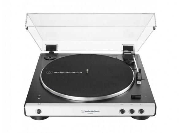 Gira-discos de alta fidelidade Audio Technica AT-LP60XBT WH