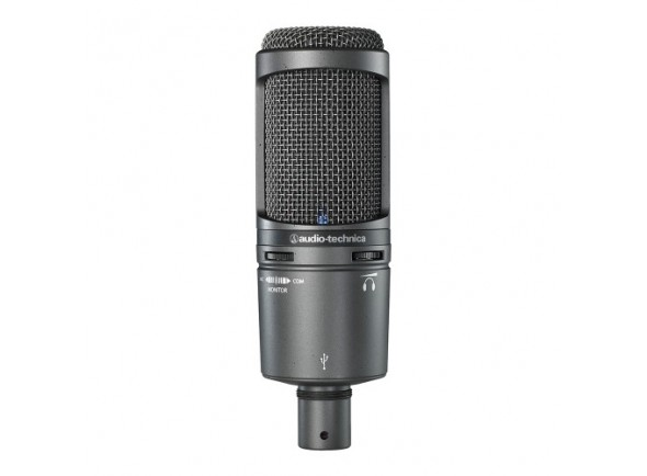 Microfone de membrana grande Audio Technica AT2020 USB+