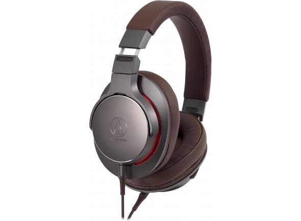 Auscultadores de alta-fidelidade Audio Technica ATH-MSR7b GM