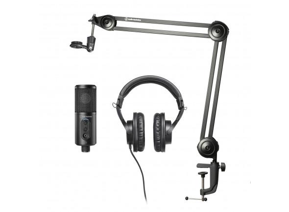Conjuntos de microfones Audio Technica  Pack Creator Estudio