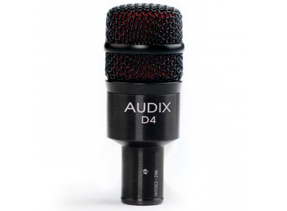 Microfones para bateria Audix D4