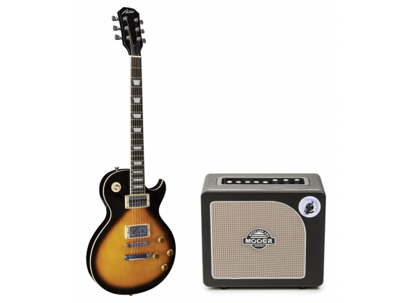 Packs de guitarra  Austin AS6 Super 6 Tobacco Sunburst Pack