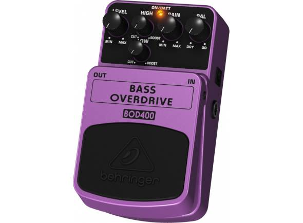 Behringer BOD400   Pedal Para baixo Behringer Bod400 Bass Overdrive
