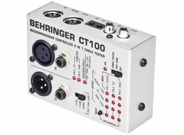 Processadores de Efeitos Behringer Cabo Tester ct100