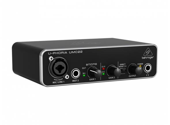 Behringer Interface AUD-USB/USB2.0 UMC22