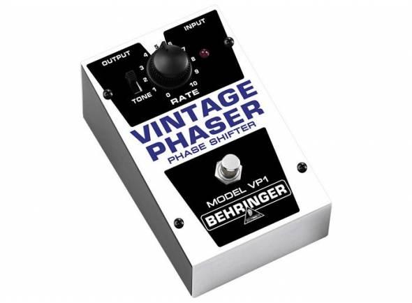 Behringer VP 1 VINTAGE PHASER  Pedal Behringer VP1 Vintage Phaser Shifter