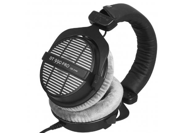 Beyerdynamic DT-990 Pro B-Stock   Auscultadores Beyerdynamic DT 990 PRO. Open. Carga: 96 dB/SPL. Impedância: 250 Ω.