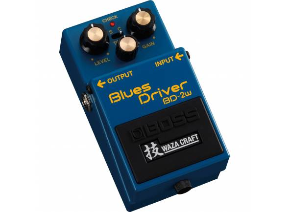 Pedal de distorção BOSS BD-2W Blues Driver - Waza Craft