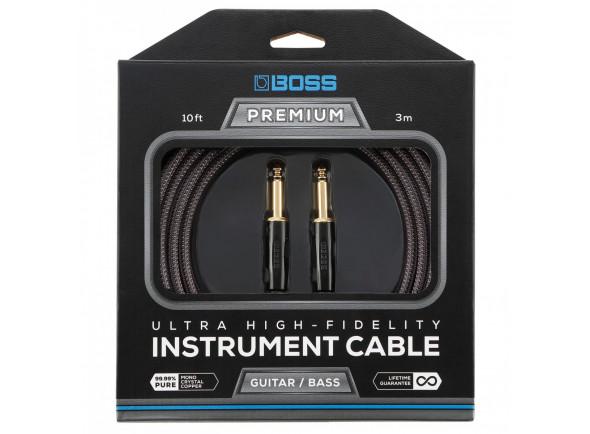 Cabo para Instrumento BOSS BIC-P10 Premium Jack Reto 3m
