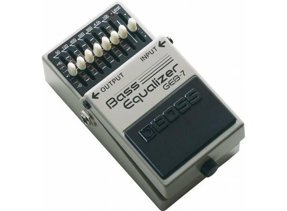 Pedais para baixo Boss GEB-7 Bass Equalizer