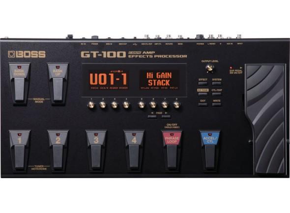 BOSS GT-100 Pedaleira Multi-Efeitos