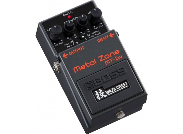 Pedal de distorção BOSS MT-2W Metal Zone - Waza Craft