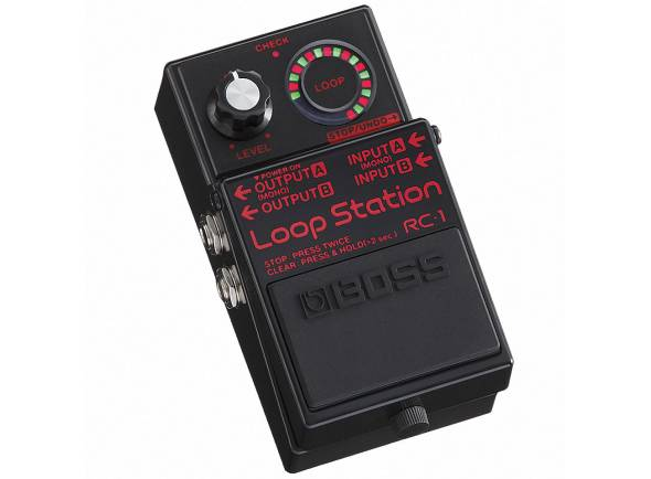 Boss RC-1 BK   Pedal de Guitarra Boss RC1 Loop Station Preto