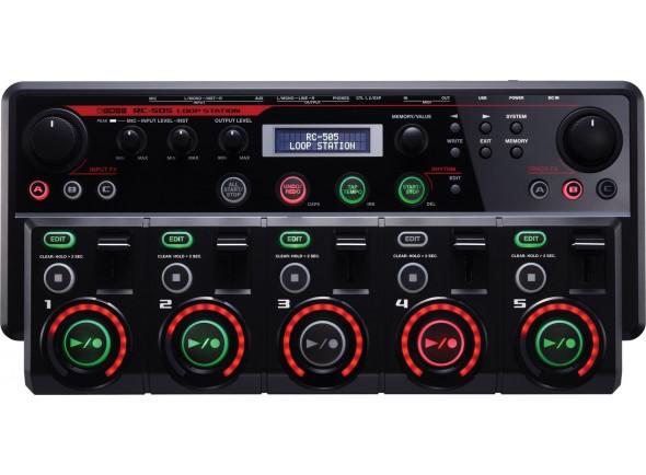 Processadores para vocalistas BOSS RC-505 Loop Station Premium