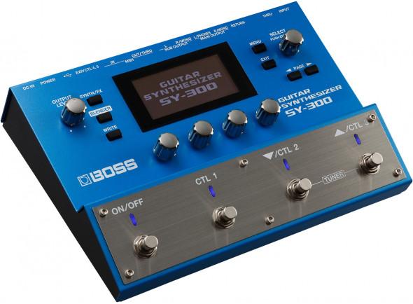 Sintetizadores para guitarras e baixos BOSS SY-300 Sintetizador de Guitarra e Baixo