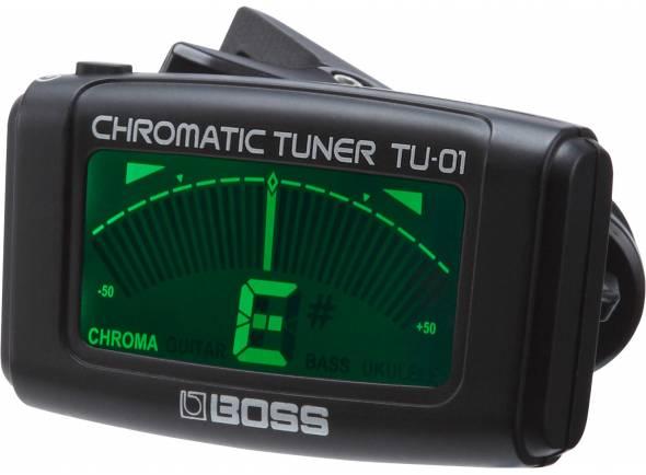 Afinador de Guitarra BOSS TU-01 Afinador Clip