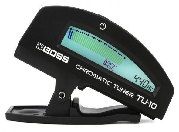 Afinador de Guitarra BOSS TU-10BK Afinador Clip