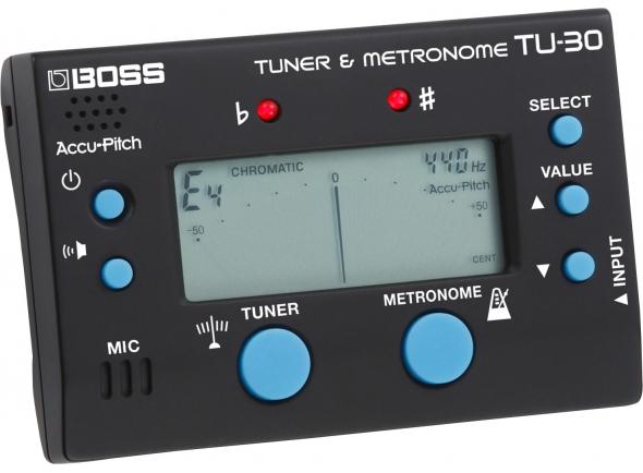 Boss TU-30 Afinador / Metronomo