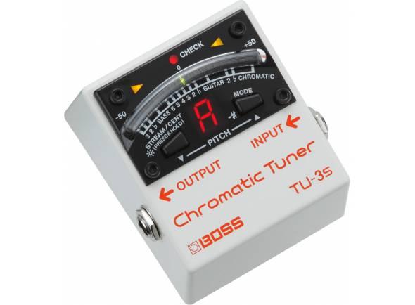 Afinadores de pedal Boss TU-3S