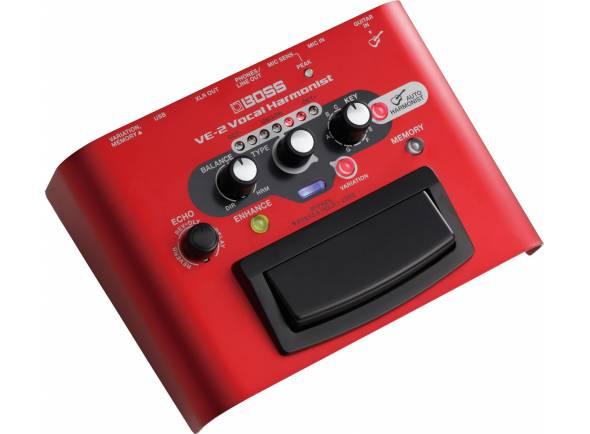 Processadores para vocalistas BOSS VE-2