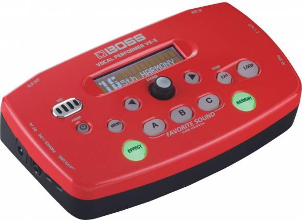 Processadores para vocalistas BOSS VE-5 RD Vocal Performer