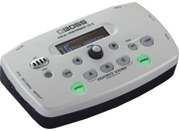 Processadores para vocalistas Boss VE-5 WH