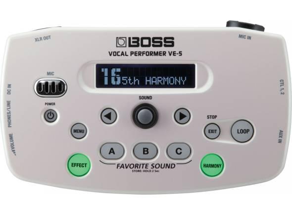 Processadores para vocalistas BOSS VE-5 WH Vocal Performer