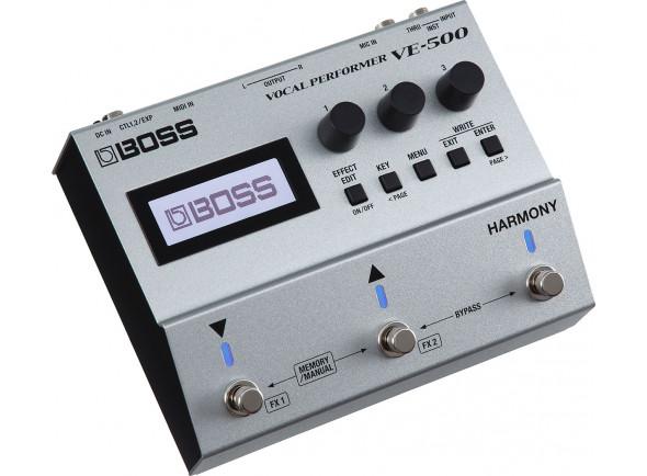 Processadores para vocalistas BOSS VE-500 Pedal Processador de Voz Premium