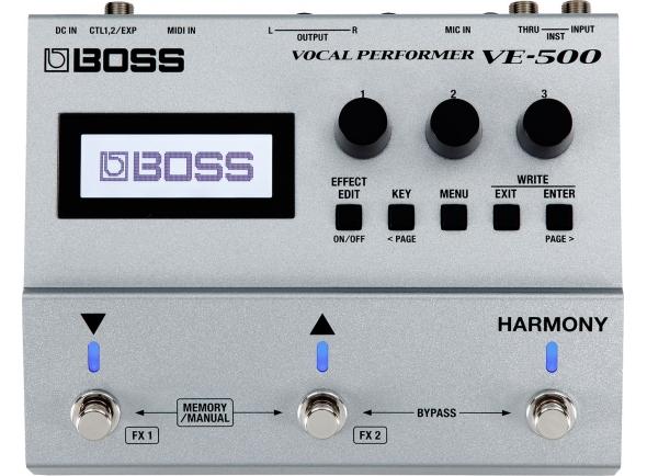 Processadores para vocalistas BOSS VE-500 Vocal Performer
