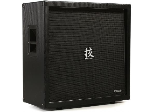Boss WAZA 4 x 12   Boss WAZA 4 x 12  Combinação perfeita para Waza Amplificador cabeça.  Feito-4 Colunas de 12 polegadas.  Som de Rock lendário precoce.  Fechado de trás do armário.  8ohms de impedância, 80W