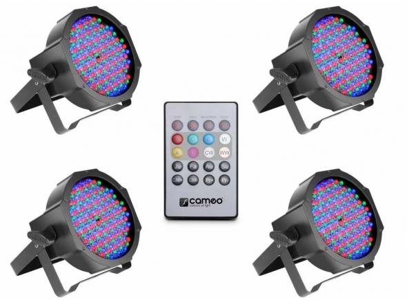 Cameo Flat PAR RGB 10 Bundle