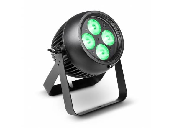 Cameo ZENIT P 130  PAR profissional ao ar livre IP65 pode com 4 x 32 W RGBW Osram LEDs OSTAR e ângulo de feixe de 8 °