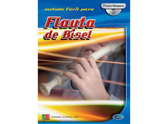 Livros para flauta Carisch Método Fácil para Flauta de Bisel com CD