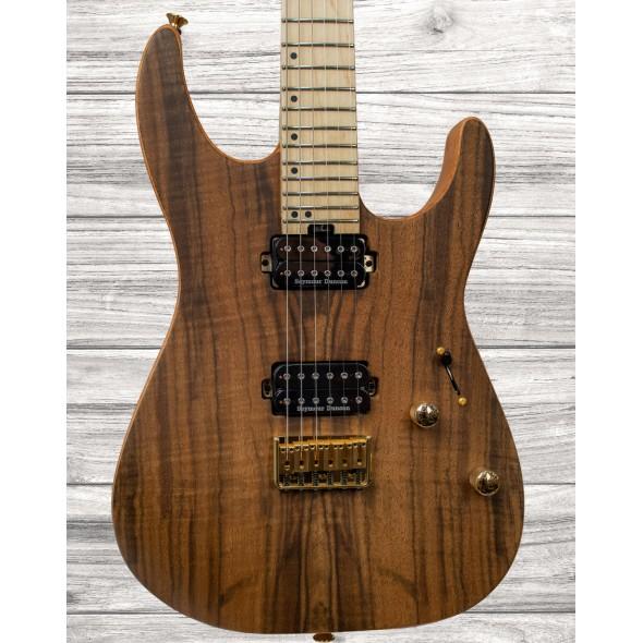 Guitarras formato ST Charvel Pro-Mod DK24 HH HT M Figured Walnut Natural