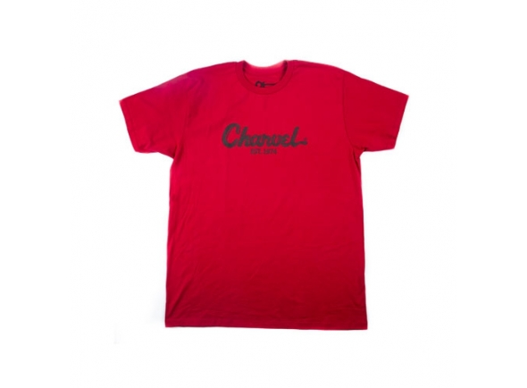 Diversos Charvel Toothpaste Logo Tee, Red, L
