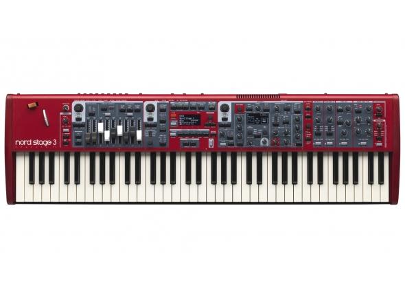 Pianos de palco Clavia Nord Stage 3 compact