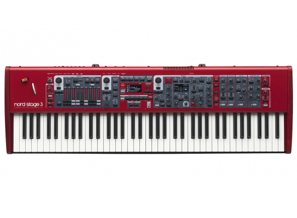 Pianos de palco Clavia Nord Stage 3 HP76 B-Stock