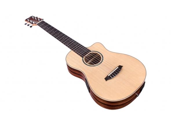 Guitarras clássicas eletrificadas Cordoba Mini II EB-CE