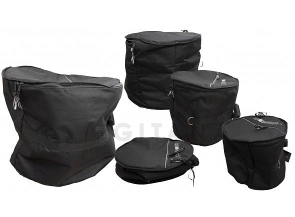 Bolsas para bateria acústica Crossrock SACO SET BATERIA