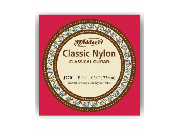 D´Addario J2701 E1 Single String