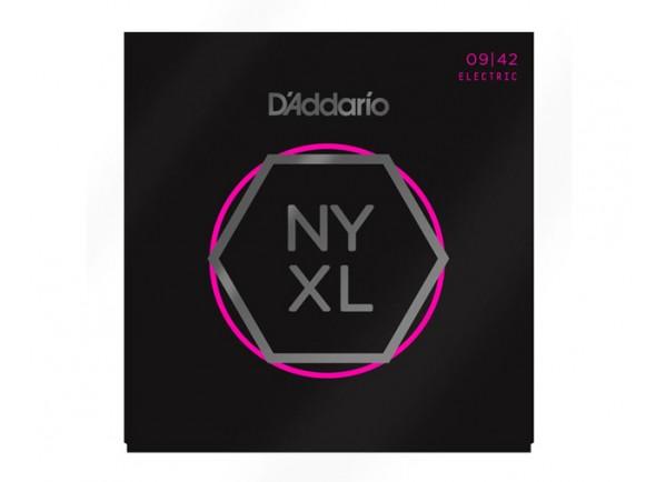 Jogo de cordas .009 D´Addario Jogo de Cordas 009 Guitarra Elétrica NYXL 09-42
